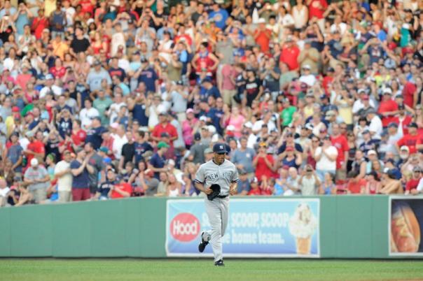 USP MLB: NEW YORK YANKEES AT BOSTON RED SOX S BBA USA MA